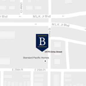 Stapleton Denver Retirement Communities Map
