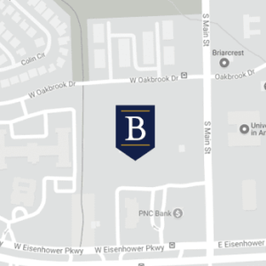 balfour-location-map-ann-arbor Map